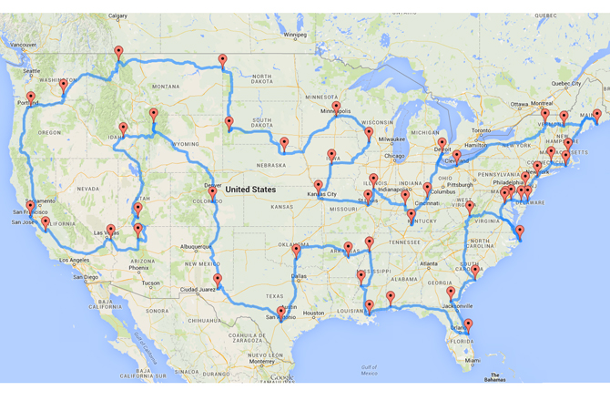 best road trip in united states