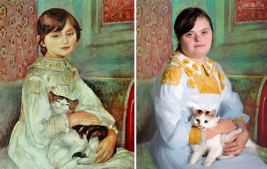 recreations of famous paintings