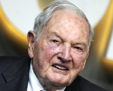 David Rockefeller dead