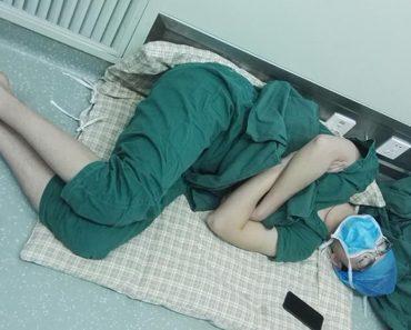sleeping surgeon