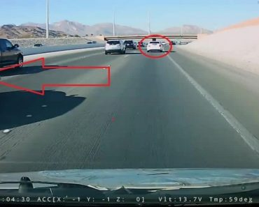 Instant Justice Captured On Dash Cam For Reckless Driver