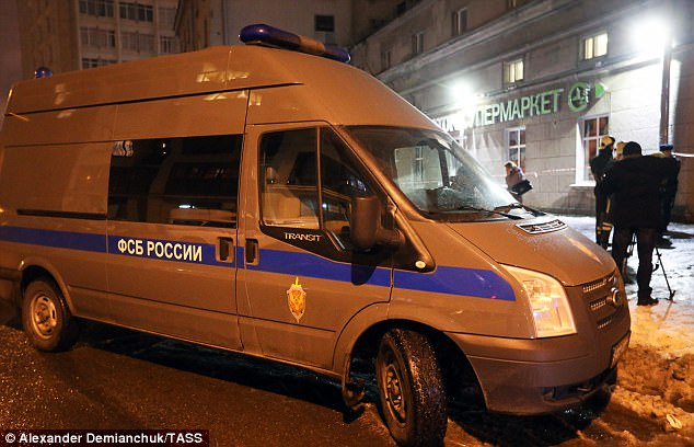 St Petersburg supermarket explosion