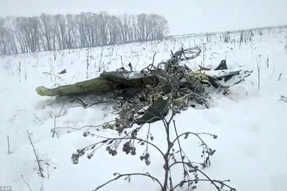 russian plane crash