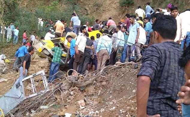 school bus accident india