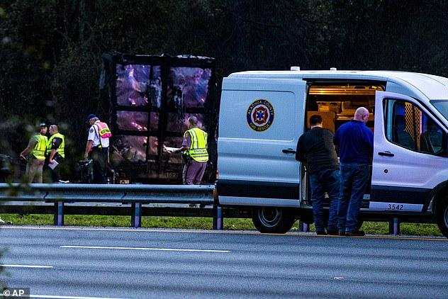 church van accident