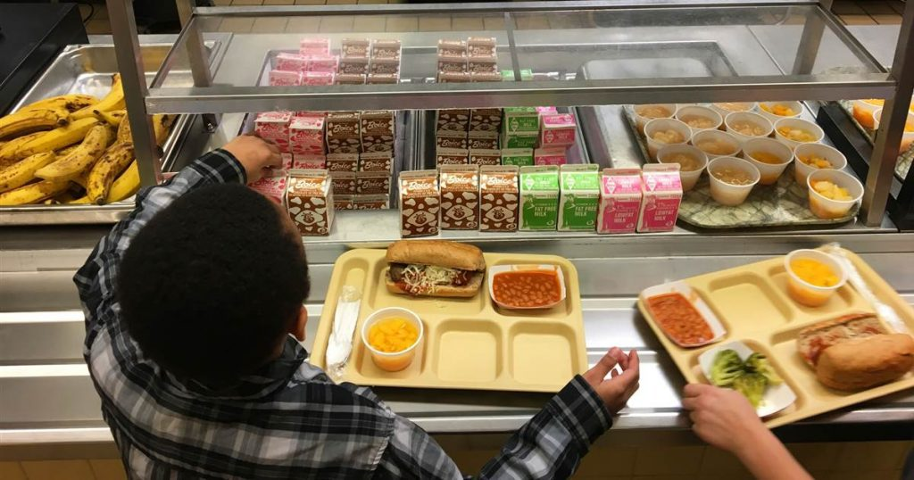 school lunch unpaid debt
